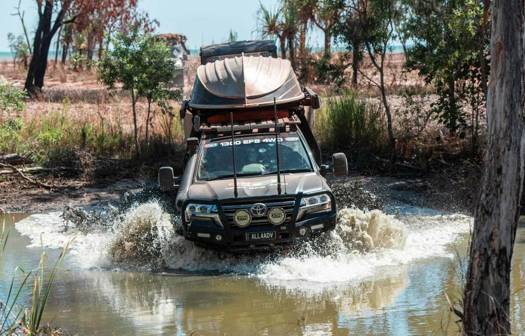 Tips for river crossings in 4WD